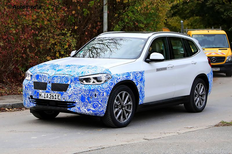 An Electric BMW iX3 Might be Launched in the U.S. with a 75 kWh Battery