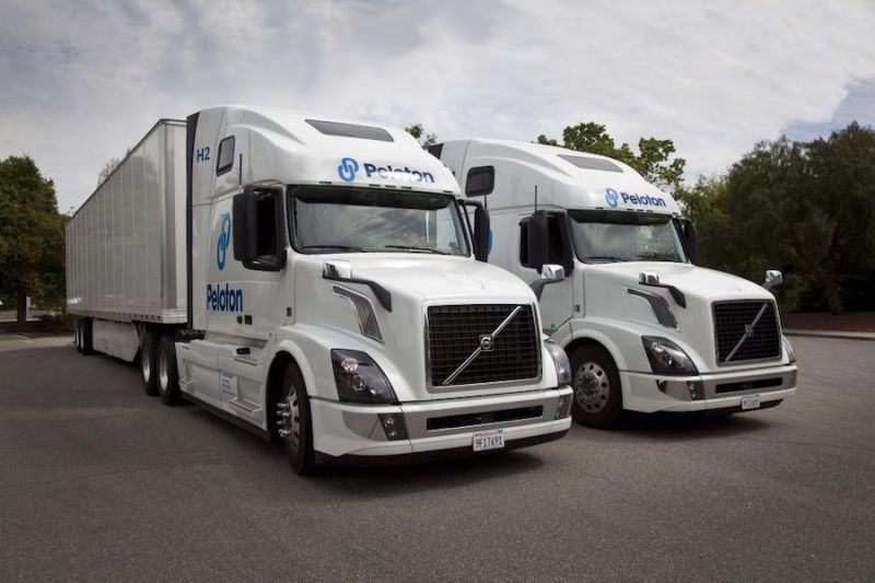 Peloton Technology Develops Tech to Give One Truck Driver Control Over Multiple Vehicles