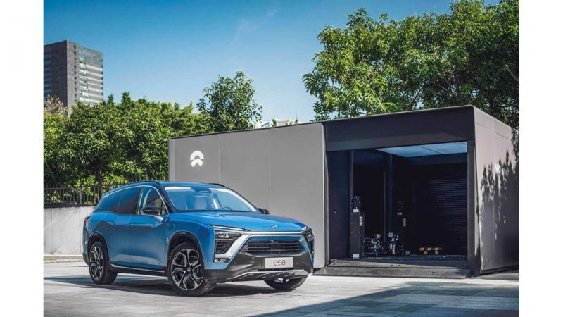 NIO Reports Fewer Deliveries in July After its Flagship ES8 SUV was Recalled for Battery Issues