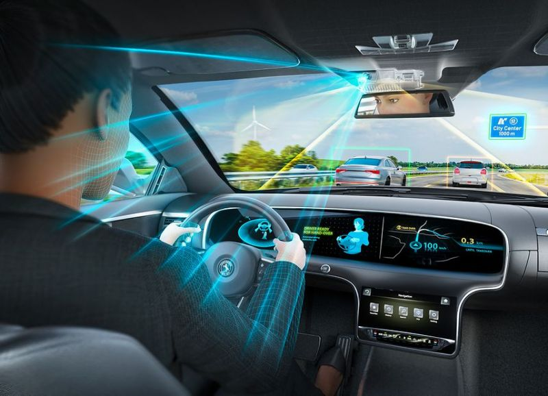 Continental Develops a 'Road AND Driver' Camera System for Autonomous Vehicles