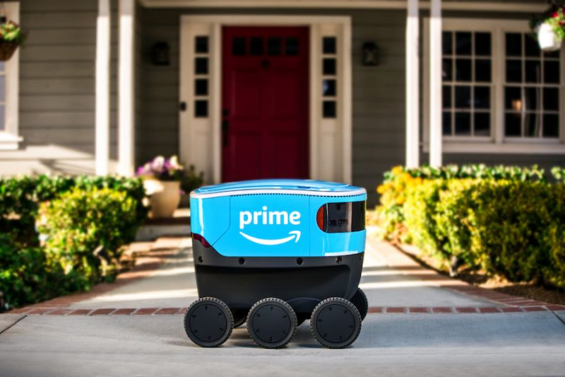 Amazon Scout Driverless Delivery Machines Get to Work in California