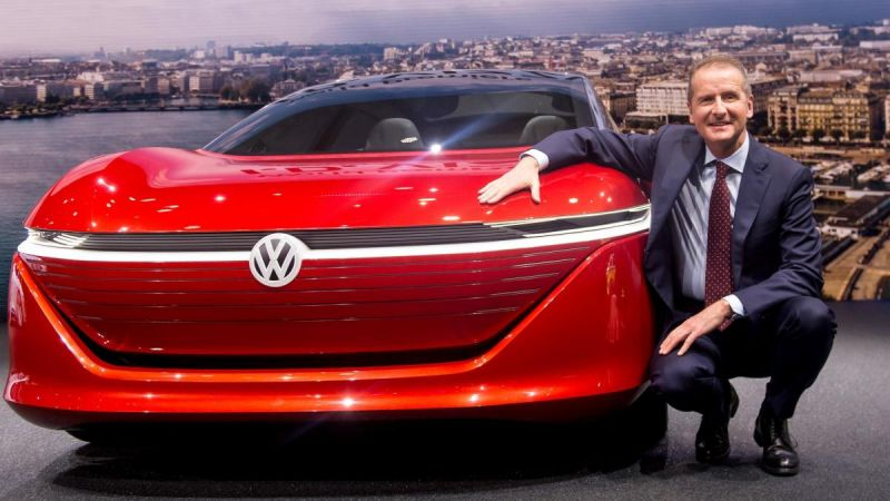 Volkswagen CEO interested in Tesla stake