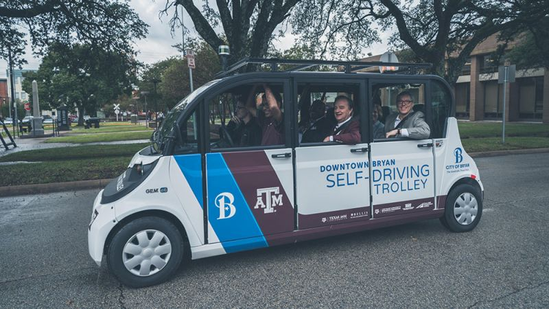 Designated Driver Deploys its 'Remote Driver' Technology for Autonomous Shuttles at Texas A&M