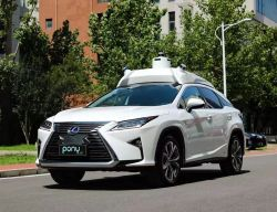 Toyota Enters Partnership With Chinese Startup Pony.Ai for Autonomous Tech