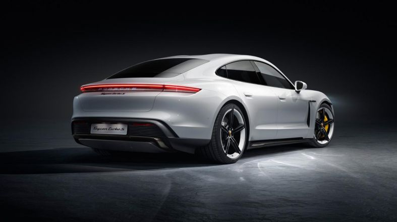 Porsche Officially Debuts its Electric Taycan, its