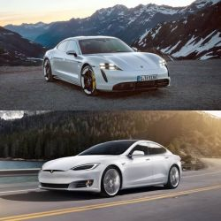 Quick Comparison: Tesla Model S vs 2020 Porsche Taycan