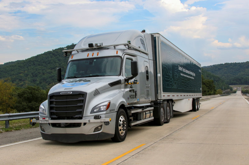 Daimler & Torc Robotics Begin Testing Autonomous Trucks on Public Roads in the U.S.