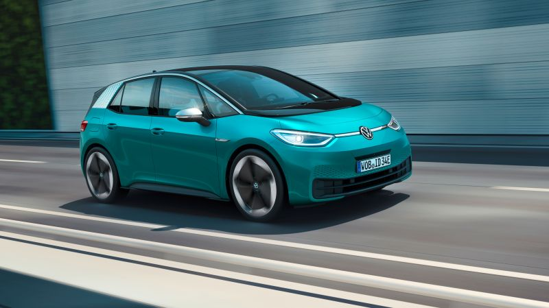 Volkswagen Unveils its ID.3, the Electric Car That Will Take On Tesla