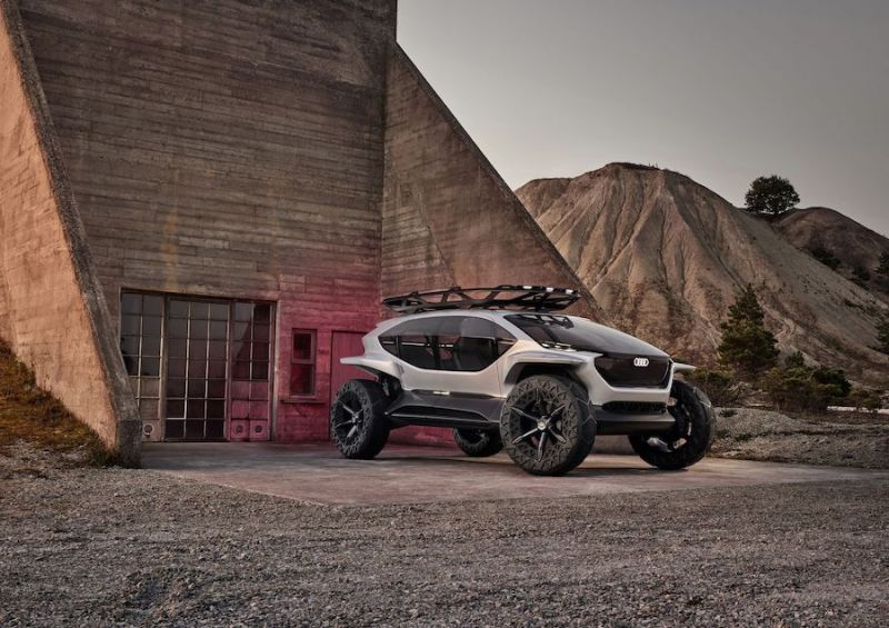 Audi's AI:Trail Quattro Concept Is the Autonomous, EV That Looks out of This World