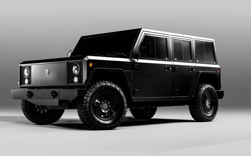 Bollinger Motors Reveals its B1 & B2 Fully-Electric Utilitarian Trucks