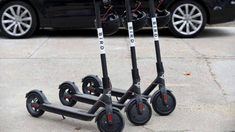 Electric Scooter Startup Bird Raises $275 Million in Latest Funding Round