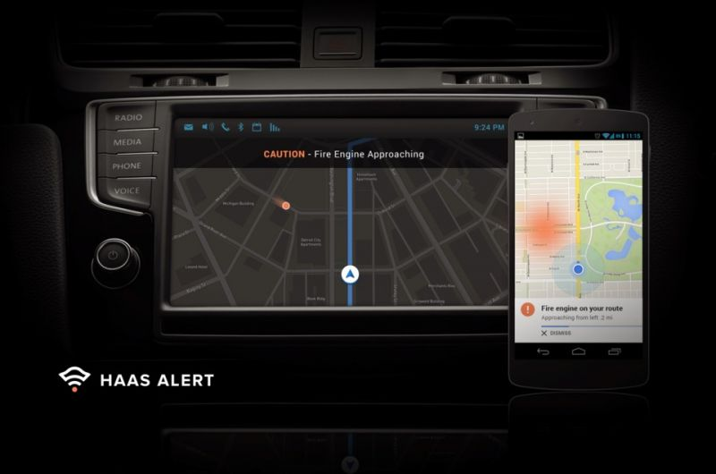 HAAS Alert Seeks to Improve Road Safety by Notifying Drivers When Emergency Vehicles Are Nearby