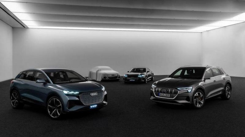 Audi's Latest PPE Platform Is Part of a Four-Pronged EV Approach