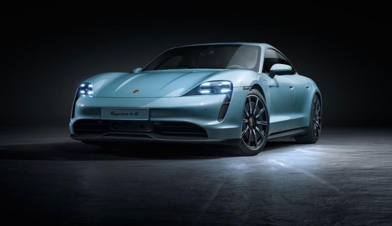 Porsche Debuts its More Affordable Taycan 4S Electric Sedan