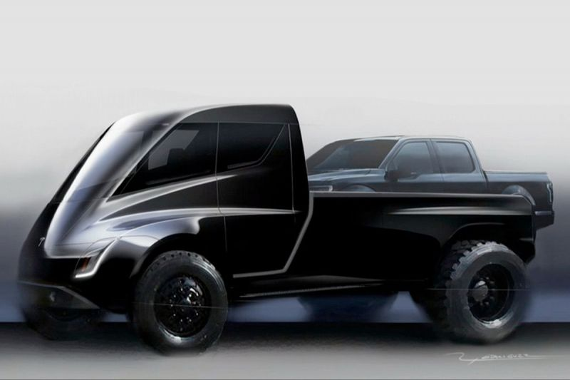 Here's What We Know About Tesla's Upcoming Electric Pickup Truck