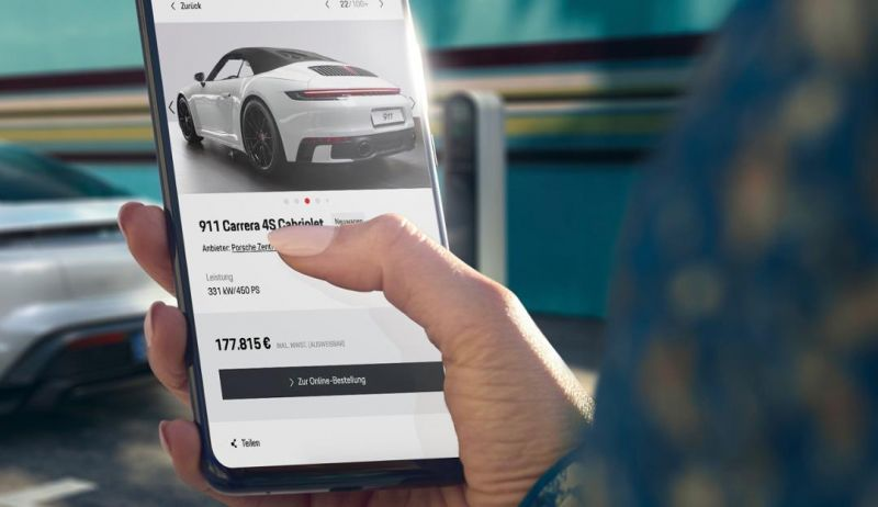 Porsche to Launch Online Vehicle Sales