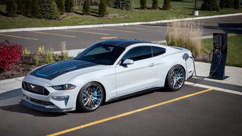 All You Need To Know About The 900 Hp Electric Ford Mustang