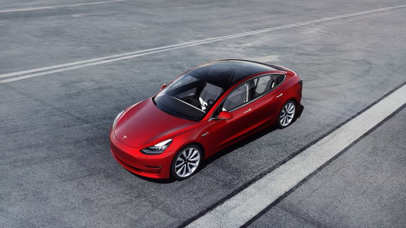 Tesla Model 3 Becomes Most Efficient Electric Vehicle on Sale