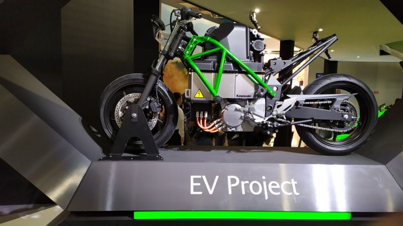 Here's What You Need to Know About Kawasaki's Electric Motorcycle