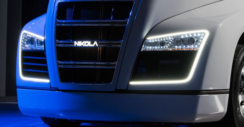 Hydrogen-Powered Truck Startup Nikola Announces a New 'Game-Changing' EV Battery Technology