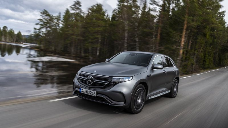 Mercedes-Benz Announces Pricing for the Electric EQC SUV in the U.S.