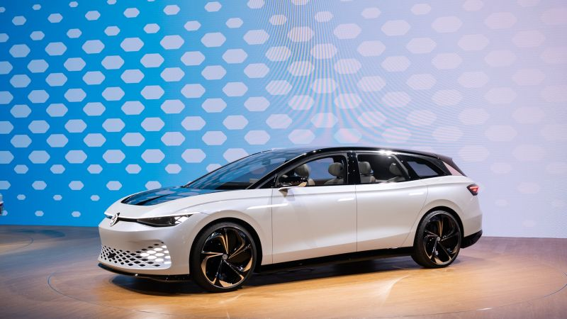 Volkswagen Officially Unveils its First-Ever Electric Station Wagon: The I.D. Space Vizzion
