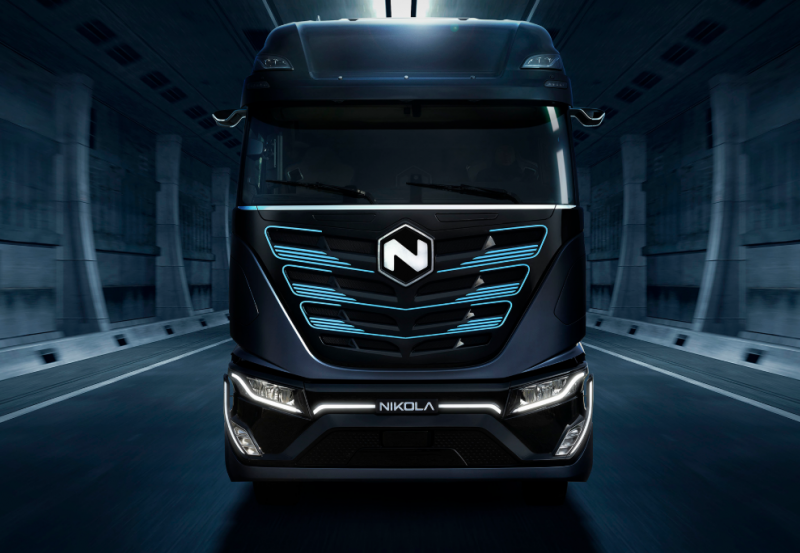 Italian Truck Maker Iveco Unveils the 'Nikola TRE', an Electric Truck Built in a Joint Venture with Nikola Motor