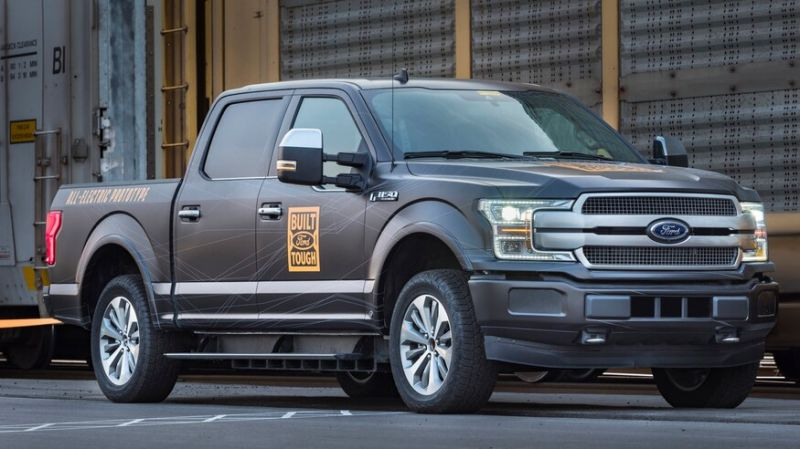 A New Patent Reveals Some More Details About Ford's All-electric F-150