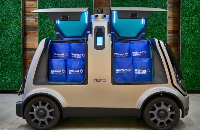 Walmart is Launching an Autonomous Grocery Delivery Pilot with Startup Nuro