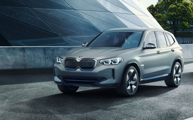 The BMW iX3 All-electric Crossover Will Get More Range Than Power