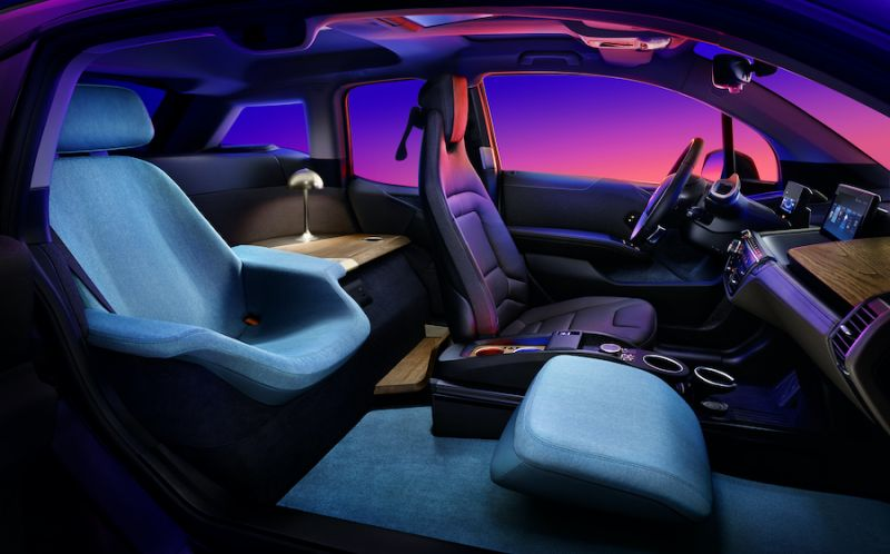BMW i3 Urban Suite Concept is a Miniature Luxury Car