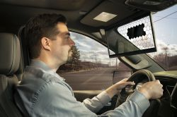 Bosch Develops a See-Through 'Virtual Visor' for Vehicles That Only Blocks Sun Glare