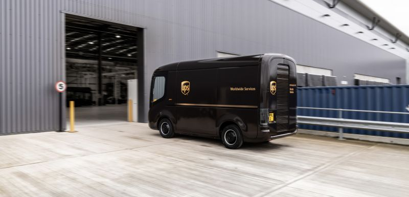 UPS is Working to Secure its Future with New Partnerships for Electric & Self-Driving Vehicles