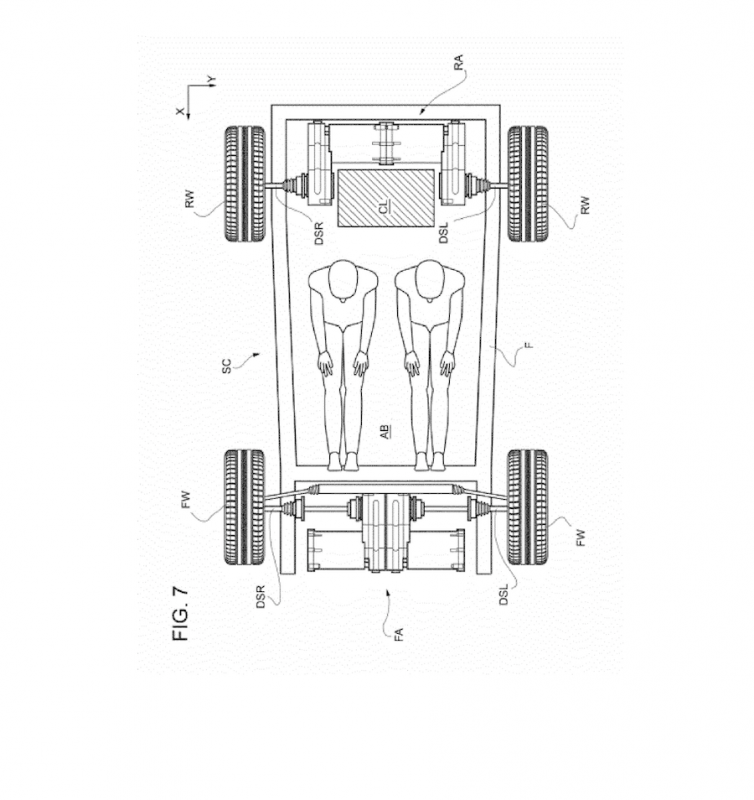 Ferrari Patent Application Hints at Possible EV
