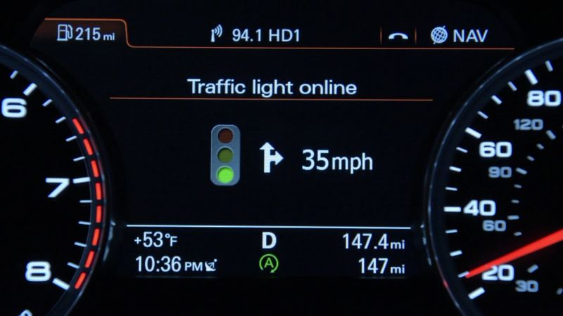 Audi Vehicles Can Now Communicate with Traffic Lights in Düsseldorf, Germany
