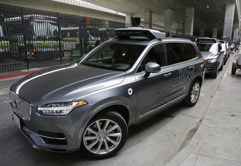 Uber Granted a Permit to Test its Self-driving Vehicles on Public Roads in California