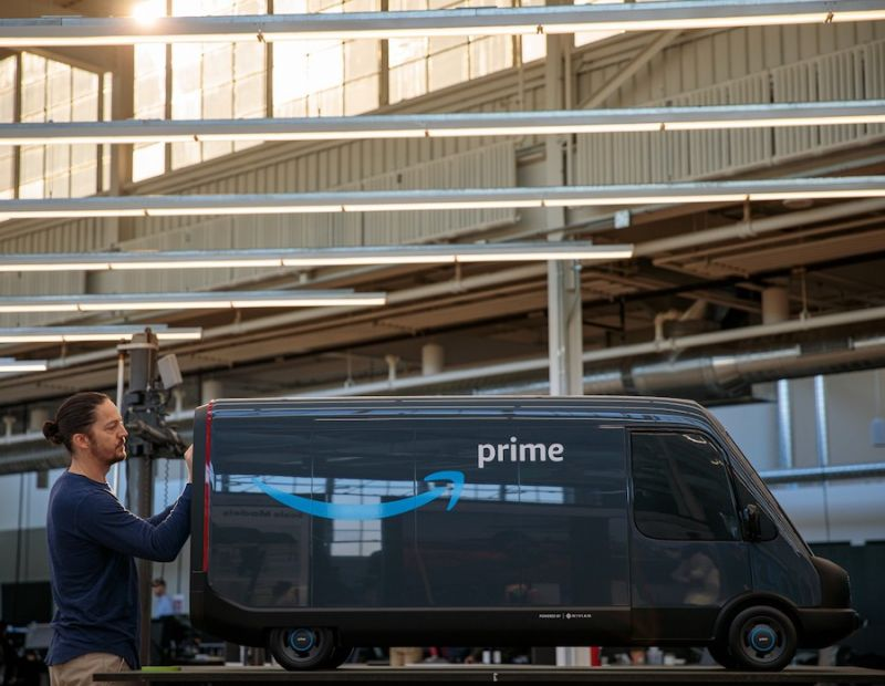 Rivian, Amazon Provide New Details on Upcoming Electric Vans