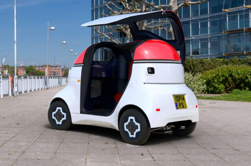 Gordon Murray Reimagines Transportation as Electric Autonomous Pod