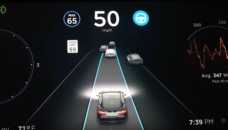 Researchers Trick Tesla Vehicles into Driving 50 MPH Over the Speed Limit with a Traffic Sign Altered with Black Tape