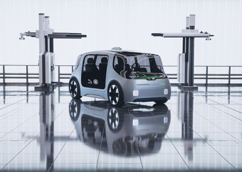 Jaguar Land Rover Unveils Autonomous and Electric 'Project Vector' Shuttle Concept