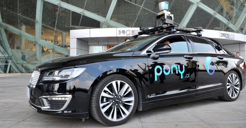 Autonomous Driving Startup Pony.ai Receives $400 Million Investment from Toyota