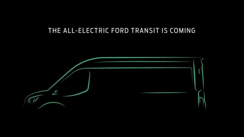 Ford Motor Company Announces a Fully-Electric Transit Van, it Will Debut as a 2022 Model