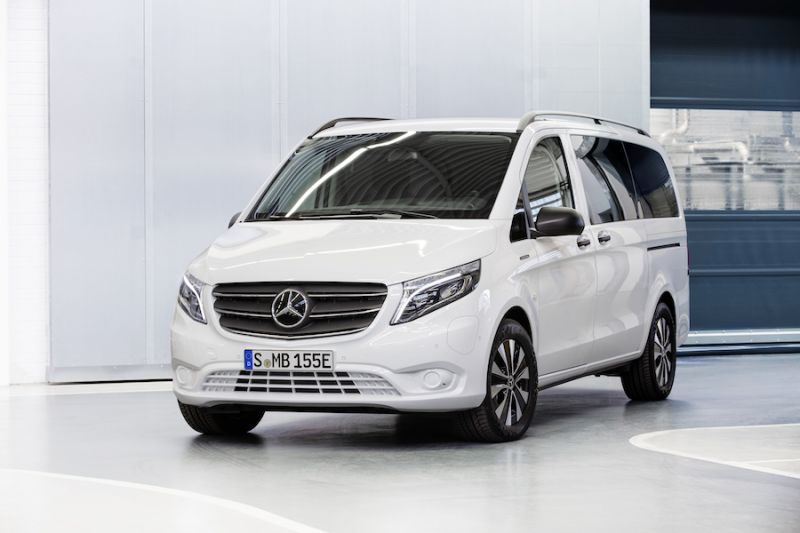 Mercedes-Benz Unveils eVito Electric Van With Over 200 Miles of Range