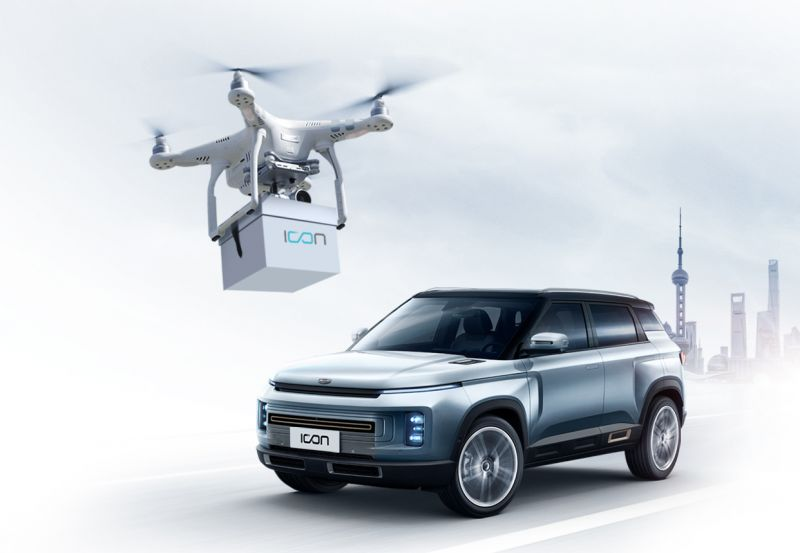 Chinese Automaker Geely is Delivering Keys by Drone for New Vehicle Purchases