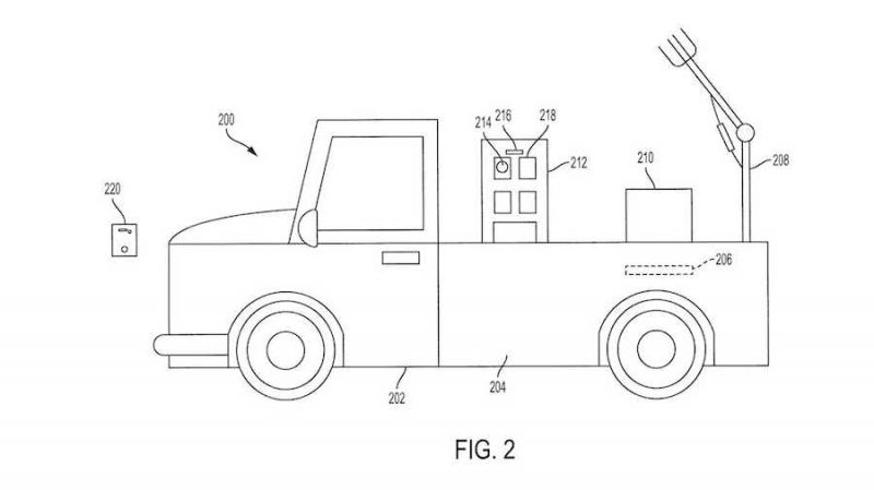 Toyota Patents Autonomous Workhorse That Can Help You Shop