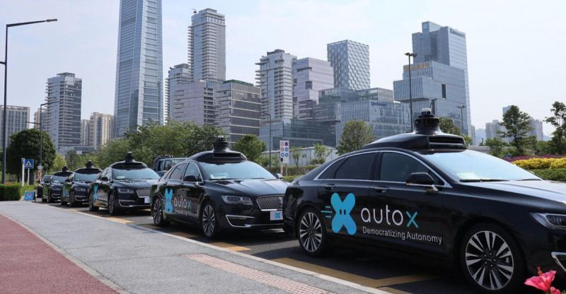 Self-Driving Startup AutoX Deploys its Robotaxis in Shanghai