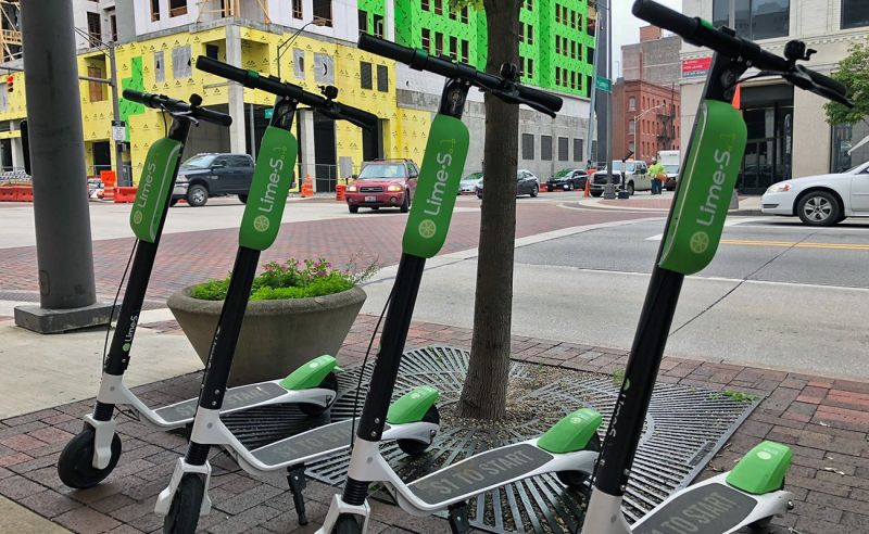 Uber is Leading a $170 Million Investment in Electric Scooter Sharing Startup Lime