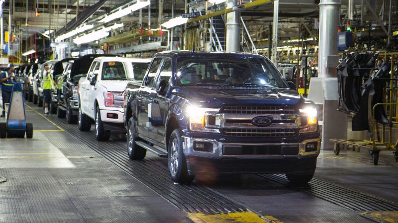Just Days After Reopening, Ford Motor Co Temporarily Closes 2 Assembly Plants