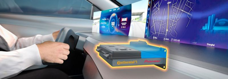 Continental Signs Agreement With Pioneer to Develop an Integrated High-Performance Vehicle Cockpit