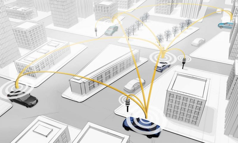 How Mercedes Benz is Keeping Drivers Safe Using 'Car-to-X' Communication Technology